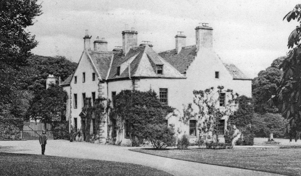Aberdour House, near Aberdour Castle, a scenic old stronghold castle with gardens and orchard of the Douglas Earls of Morton, in the pretty village of Aberdour in Fife.