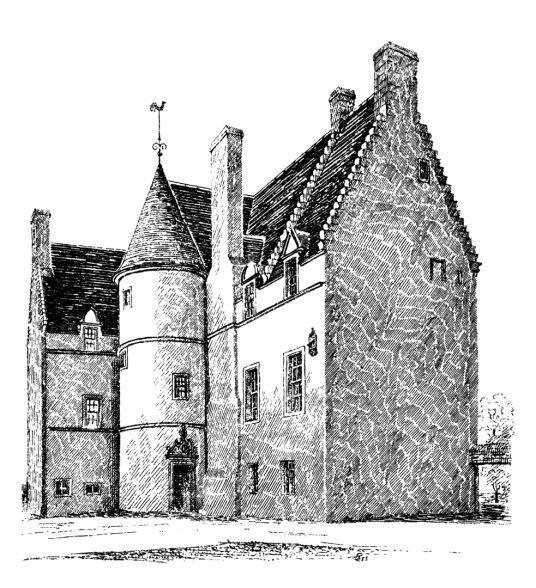 Peffermill House is a fine old building, standing in acres of parkland to the south of Edinburgh, and owned by the Edgars, Alexanders, Osbornes and then by the Gilmours, and still a private residence,