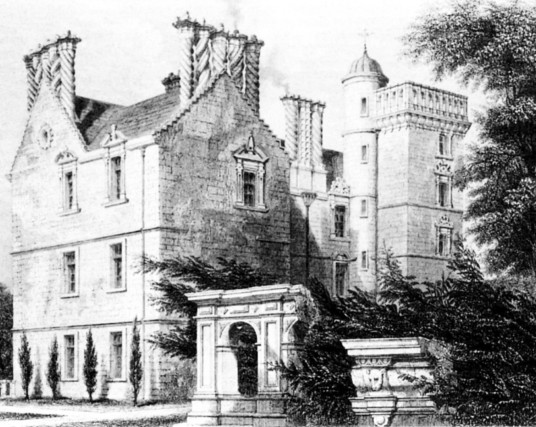 Winton House, a fine old Renaissance mansion incorporating a castle, long held by the Seton Earls of Winton, and standing in gardens and wooded policies near Pencaitland and Tranent in East Lothian in central Scotland.