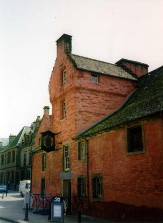 Abbot House is a fine town house of the commendators of nearby Dunfermline Abbey, in the heritage quarter of Dunfermline in Fife.