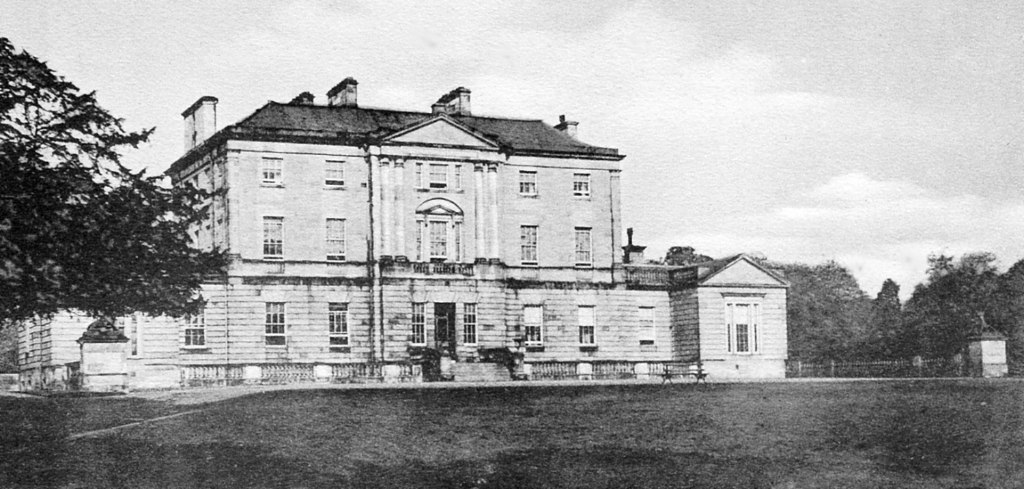 Newliston House is a fine Adam mansion, set in landscaped grounds near Kirkliston in West Lothian in central Scotland, and held by the Dundas family, the Dalrymples of Stair, and then the Hog family.
