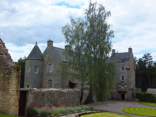 Ferniehirst Castle is a fine tower and house of the Kerrs, now Marquises of Lothian, near Jedburgh in the Borders in the south of Scotland.