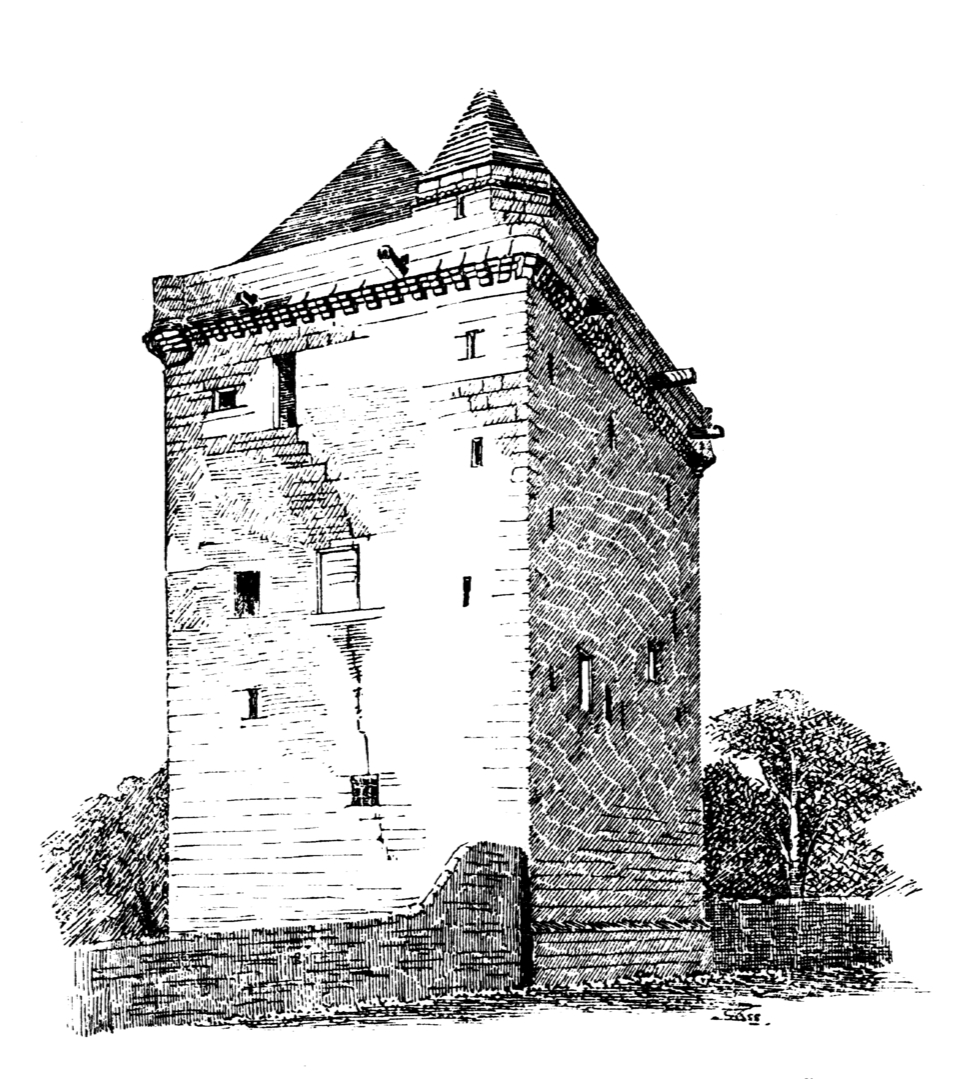 Elphinstone Tower had been reduced to the base, but was an impressive tower, long held by the Elphinstone family, in the village of Elphinstone, near Tranent, in East Lothian in southeast Scotland.