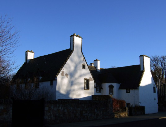 Hamilton House, also known as Magdalen House, is an attractive old whitewashed building, located in the Preston area of Prestonpans in East Lothian in southeast Scotland, by Preston Tower and Northfield House, and built by the Hamiltons.