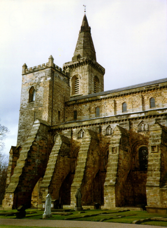 Dunfermline Palace and Abbey (nave of abbey church) consists of the now ruinous royal palace and domestic buildings of the adjacent abbey, as well as the impressive church nave, in the heritage quarter of the burgh of Dunfermline in Fife.