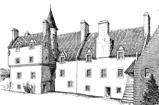 Penkaet Castle, also known as Fountainhall, is a fine old tower and mansion, long held by the Lauder family, located in a pretty spot near Pencaitland in East Lothian in southeast Scotland.