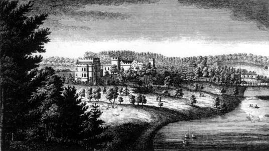 Schawpark (now demolished), which replaced Sauchie Tower, an old tower house of the Bruce family near Alloa in Clackmannanshire in central Scotland.
