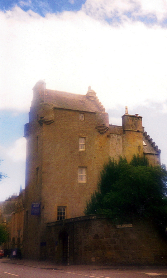 Dornoch Palace or Dornoch Castle Hotel is a fine and atmospheric old castle, long held by the Bishops of Caithness and then the Earls of Sutherland, and now a hotel, in the attractive town of Dornoch in Sutherland in the north-east Highlands of Scotland.