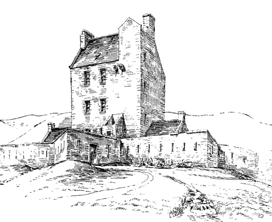 Corgarff Castle is an impressive old tower house, with later gun emplacements, held by the Forbeses and site of a famous massacre, in a impressive and mountainous location, some miles from Ballater in the Highlands of Scotland.