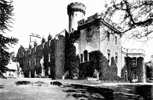 Tulloch Castle is an old stronghold and later mansion, held by the Bains and the Davidsons and said to be haunted, but now a hotel, near Dingwall in the Highlands in the north of Scotland.