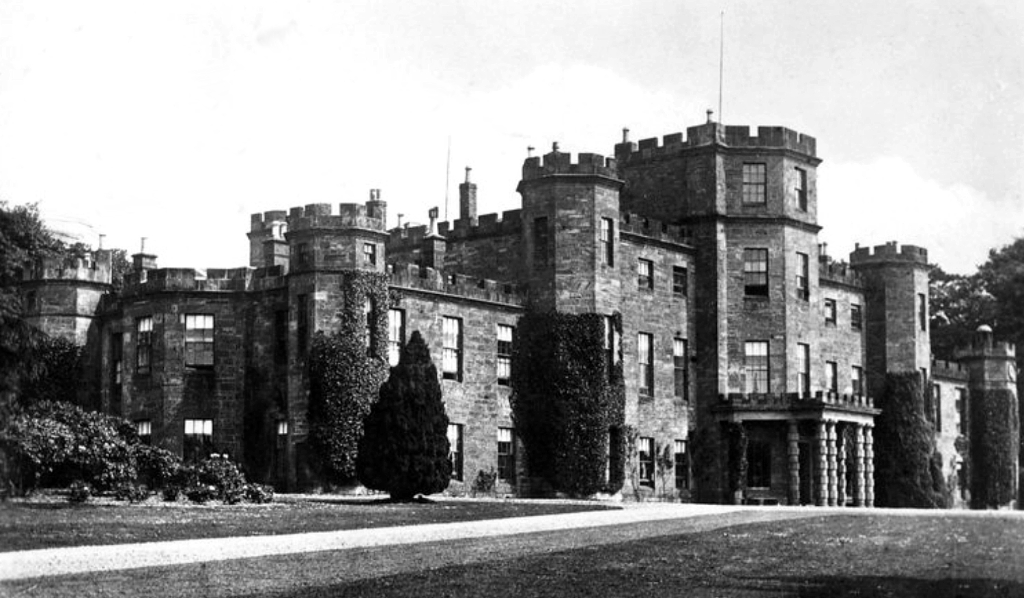 Fasque House is an impressive mansion in expansive grounds, held by the Ramsays and then the Gladstones, near Laurencekirk and Fettercairn in Kincardineshire in eastern Scotland.