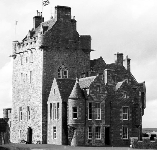 Ackergill Tower is an old castle and later mansion, long a property of Keiths and now a hotel, near Wick in Caithness in the far north of Scotland.