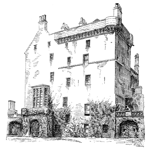 Delgatie Castle, a fabulous and atmospheric old tower and castle, long held by the Hay Earls of Errol and near the Aberdeenshire town of Turriff in the northeast of Scotland.