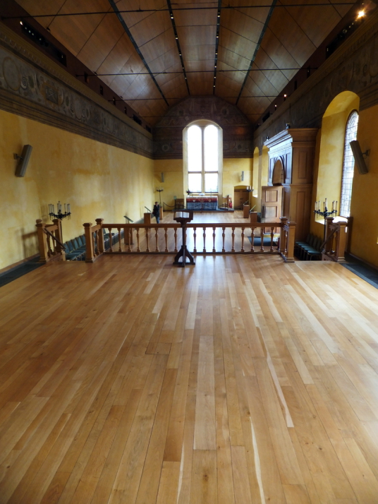 Chapel Royal of Stirling Castle, a magnificent royal stronghold and palace of the monarchs of Scotland, with the sumptuous palace of James V, great hall, chapel royal, king's old buildings, old kitchens and much else, above the historic burgh of Stirling