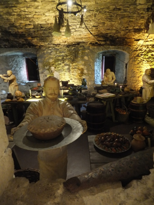 Old Kitchen, Stirling Castle, a magnificent royal stronghold and palace of the monarchs of Scotland, with the sumptuous palace of James V, great hall, chapel royal, king's old buildings, old kitchens and much else, above the historic burgh of Stirling in