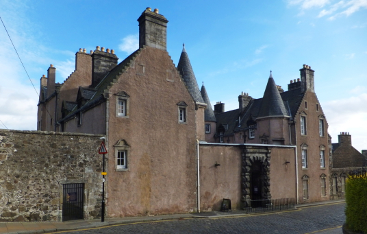 Argyll's Lodging, an impressive and atmospheric old town house, decorated and furnished as it would have been in the 17th century and owned at one time by the Campbells of Argyll, on Castle Wynd on the road up to Stirling Castle in the historic burgh.
