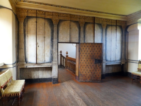 High Dining Room, Argyll's Lodging, an impressive and atmospheric old town house, decorated and furnished as it would have been in the 17th century and owned at one time by the Campbells of Argyll, on Castle Wynd on the road up to Stirling Castle in the h