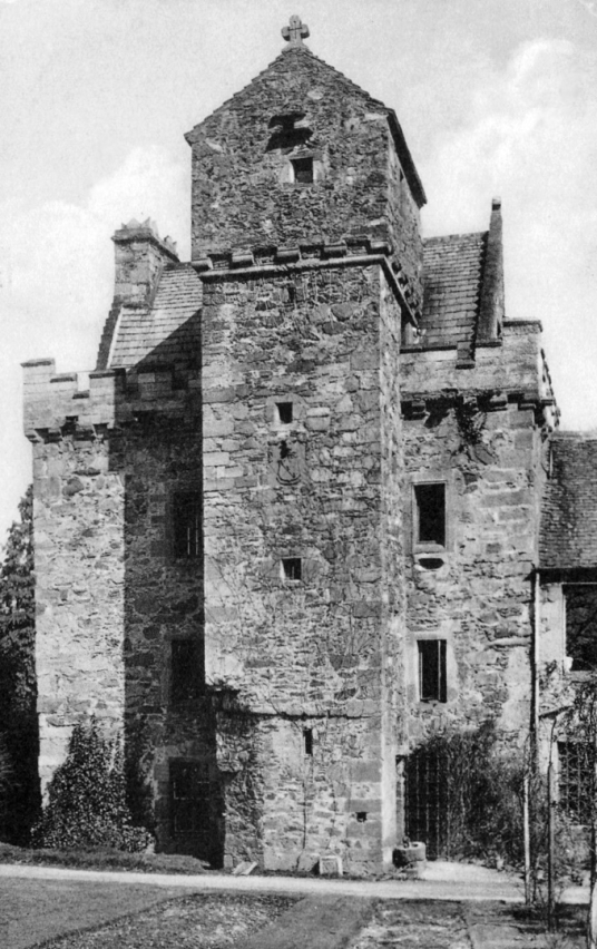 Darnick Tower, an atmospheric and attractive old tower house, long a property of the Heiton family, near Melrose in the Borders.
