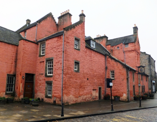 Abbot House is a fine town house of the commentators of nearby Dunfermline Abbey, in the heritage quarter of Dunfermline in Fife.