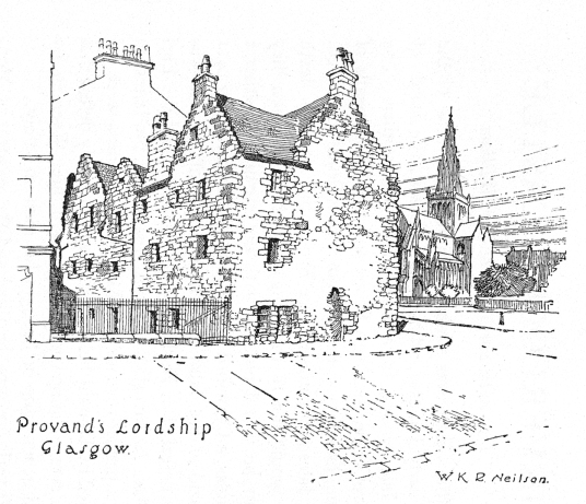 Provand's Lordship, the oldest house in Glasgow and is an atmospheric building with an interesting interior and garden, near to Glasgow Cathedral in the great city of Glasgow.