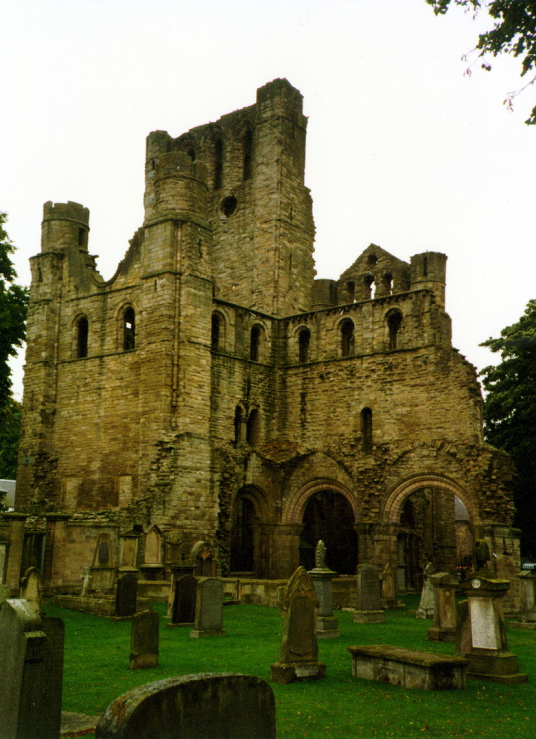 Kelso Abbey, once one of the most magnificent monastic buildings in Scotland, is now a shattered ruin in the Border burgh of Kelso.