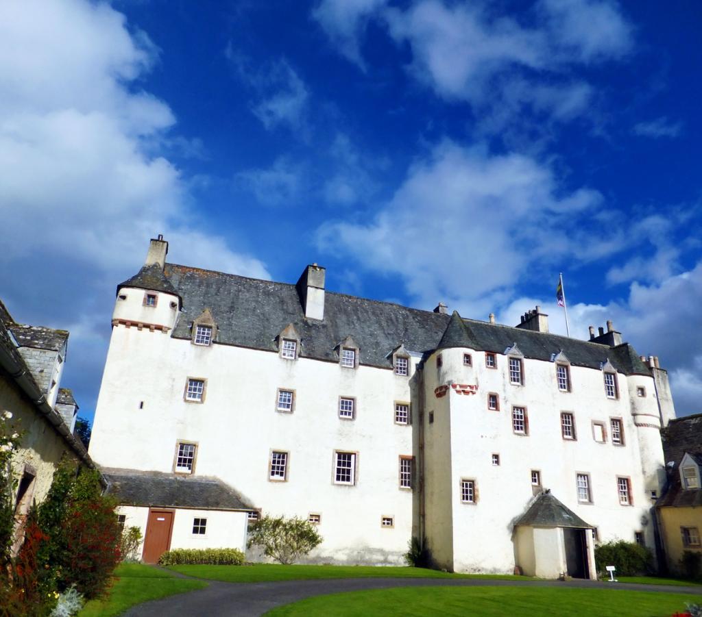 Art 1875 Print ~ Tantallon Castle ~ Scottish History Scotland