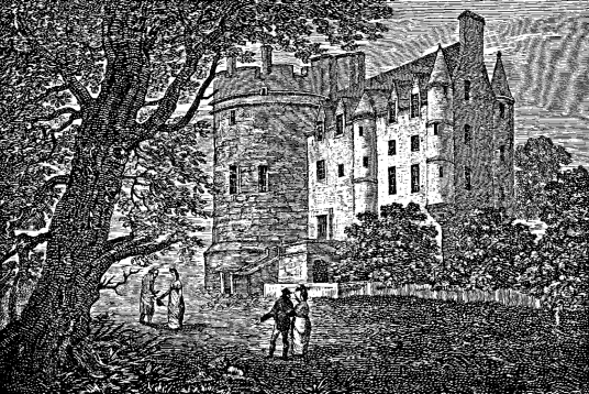 Craigcrook Castle is an attractive old castle and mansion, set in wooded grounds in the Raveston area of Edinburgh, built by the Adamsons, but lived in by a succession of families and tenants, including the judge Lord Jeffrey and the publisher Archibald C
