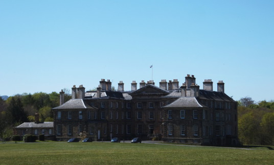 Dalkeith Palace, the magnificent mansion, including an old castle, of the Douglases and then the Scott Dukes of Buccleuch, set in beautiful landscaped policies and now a country park with lovely walks, cafe, restaurant and shop, near the town of Dalkeith