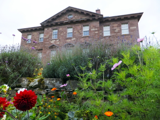 Paxton House, a fine Adam mansion, built for the Home family, with a beautiful period interior and an extensive collection of Chippendale furniture, in lovely gardens and grounds, near Berwick upon Tweed on the Scottish side of the Border