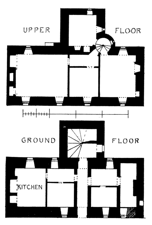 Plans of Mary Queen of Scots House or Visitor Centre or Queen Mary's House is a picturesque old tower house in the historic burgh of Jedburgh in the Borders, held by the Scotts and associated with, and now housing a museum about, Mary Queen of Scots.