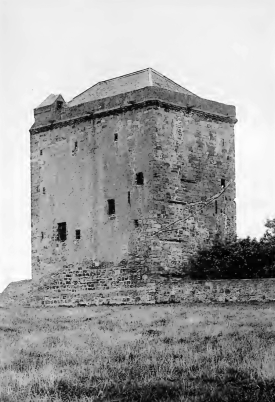 Elphinstone Tower has been reduced to the base, but was an impressive tower, long held by the Elphinstone family, in the village of Elphinstone, near Tranent, in East Lothian in southeast Scotland.