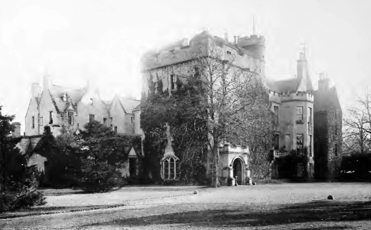 Carberry Tower is a fine old tower house and later mansion, set in beautiful wooded grounds in a pretty spot, held by the Rigg and Elphinstone families, near Musselburgh and Dalkeith in East Lothian in southeast Scotland.