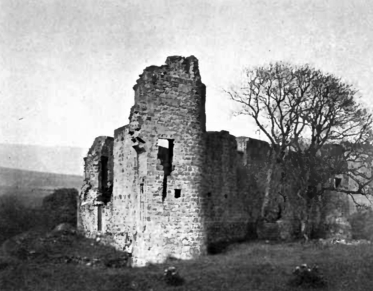 Morton Castle is an attractive and scenic old ruinous stronghold by the side of a loch, long held by the Douglas Earls of Morton and some miles from Thornhill in Dumfries and Galloway in southern Scotland.