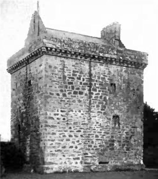 Bonshaw Tower is a fine old tower house and later mansion, in a fine wooded spot, long held by the Irvine family, and near Kirtlebridge in Dumfries and Galloway in southern Scotland.