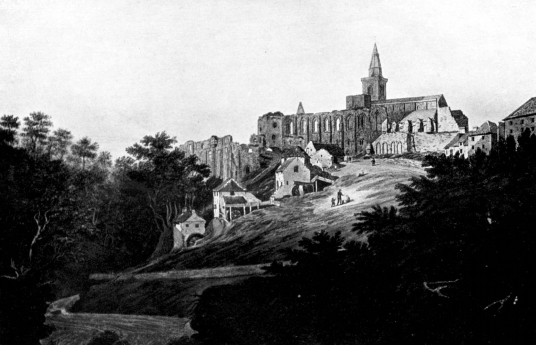 Dunfermline Palace and Abbey (remains of palace) consists of the now ruinous royal palace and domestic buildings of the adjacent abbey, as well as the impressive church nave, in the heritage quarter of the burgh of Dunfermline
