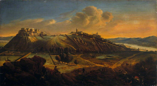 Stirling in the Time of the Stuarts by Johannes Vorsterman (c.1643–1699) photo credit: The Stirling Smith Art Gallery & Museum, CC BY-NC-ND, sour