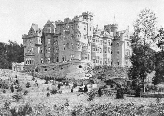 Skidoo Castle is a large and sumptuous mansion, built in 1900 by Andrew Carnegie on the site of an old castle, long a property of the Gray family, located near Dornoch in Sutherland in the northeast of Scotland.
