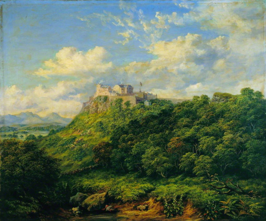 Stirling Castle by Macneil Macleay (1806–1883), Photo credit: The Stirling Smith Art Gallery & Museum, CC BY-NC-ND, source: artuk.org