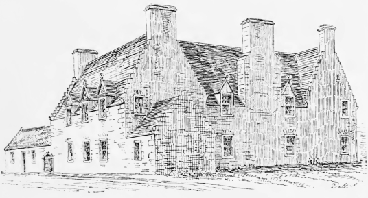 Hamilton House, also known as Magdalen House, is an attractive old whitewashed building, located in Prestonpans, by Preston Tower and Northfields House, and built by the Hamiltons.