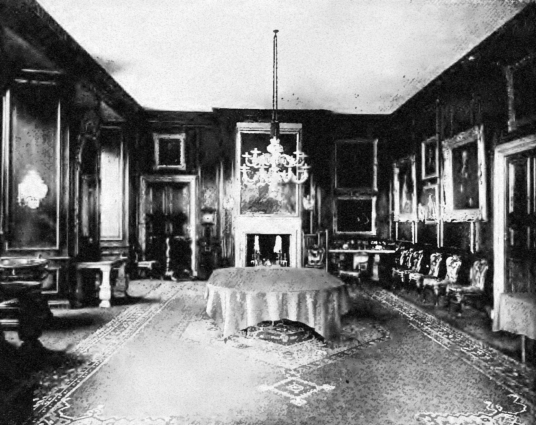 Dining Room, Dalkeith Palace, the magnificent mansion, including an old castle, of the Douglases and then the Scott Dukes of Buccleuch, set in beautiful landscaped policies and now a country park with lovely walks, cafe, restaurant and shop, near the town