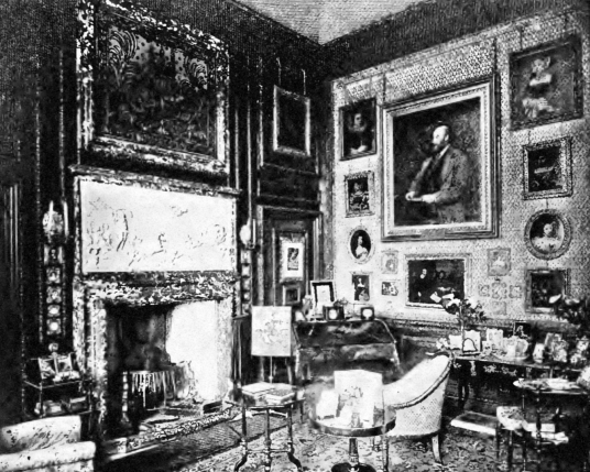 Duchess's Sitting Room, Dalkeith Palace, the magnificent mansion, including an old castle, of the Douglases and then the Scott Dukes of Buccleuch, set in beautiful landscaped policies and now a country park with lovely walks, cafe, restaurant and shop, ne