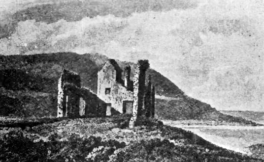 Helmsdale was an old tower house, long a property of the Sinclairs and the scene of a famous poisoning, but it has been demolished, standing at the village of Helmsdale in Sutherland in the far northeast of Scotland.