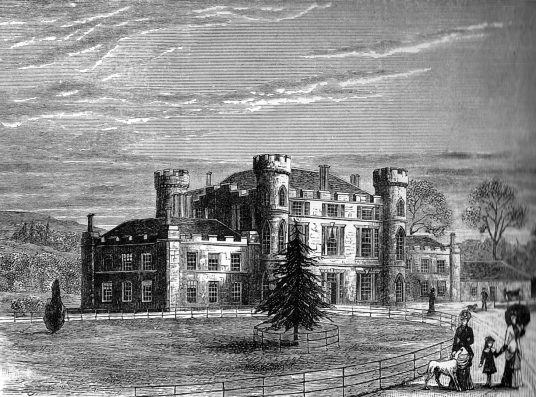 Melville Castle is a fine mansion in landscaped parkland, which replaced an old castle, held by the Ross family, the Rannies and then the powerful Henry Dundas Viscount Melville and now used as a hotel, near Dalkeith in Midlothian in central Scotland.