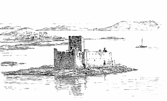 Kisimul Castle is a picturesque old partly ruinous stronghold of the MacNeills of Barra, located on an island in Castlebay on the scenic Hebridean island of Barra in western Scotland.