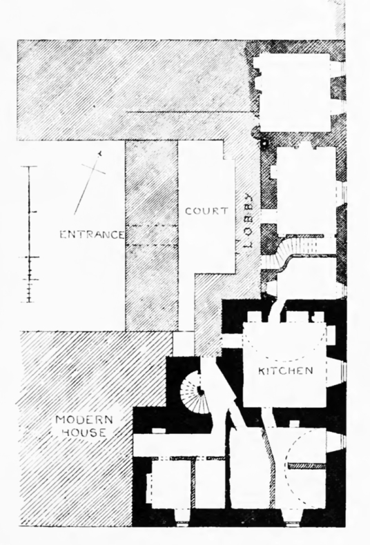 Inch House or The Inch: plan (MacGibbon and Ross)
