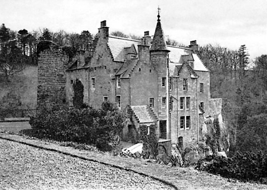 Hawthornden Castle is a picturesque old castle and mansion, long held by the Drummonds and home to the poet William Drummond, in a pretty spot above the North Esk near Loanhead in Midlothian in central Scotland.