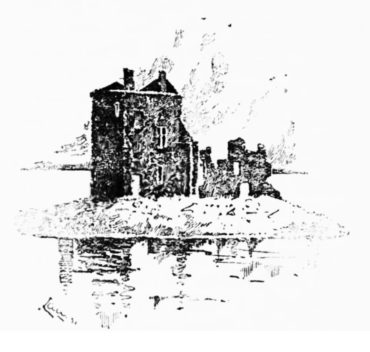 Rosyth Castle is an impressive ruined tower house, formerly on an island, long held by the Stewarts, and standing near Rosyth in Fife on the north side of the Forth.