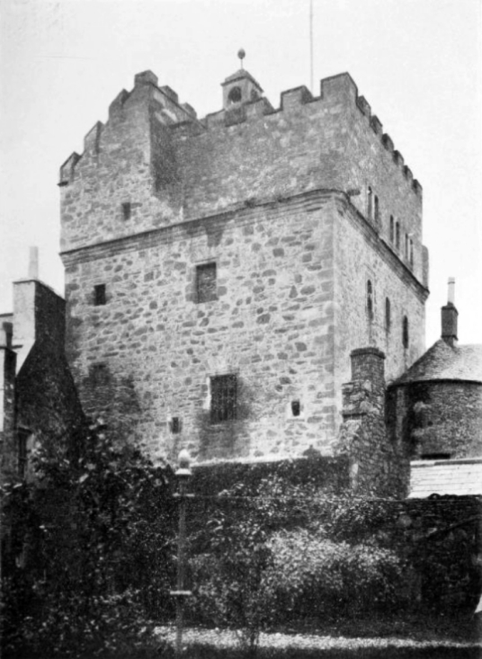 Stranraer Castle or Castle of St John, an old stronghold in Stranraer in Galloway in southwest Scotland, held by the Adairs, Kennedys and Dalrymples, later used as a jail and now a museum.