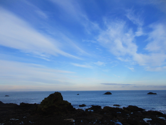 View from near castle, Dunbar Castle is a picturesque, once strong but now very ruinous old stronghold, built on rocky crags by the mouth of the harbour, besieged by the English in 1333 and associated with Mary Queen of Scots, by the harbour in the East L