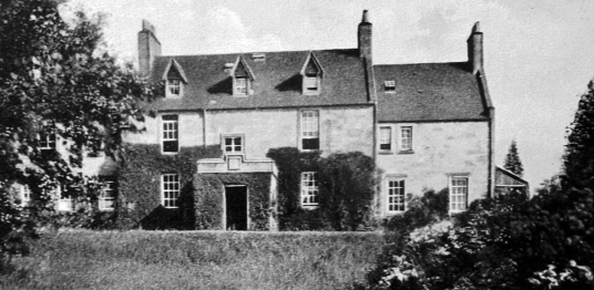 Humbie House, a fine mansion that replaced an older building, held by the Lawsons and the Hepburns, near Pathhead, in East Lothian in south-east Scotland
